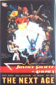 Justice Society Of America The Next Age Hardcover Graphic Novel Dynamic Forces Signed Alex Ross COA JSA DC